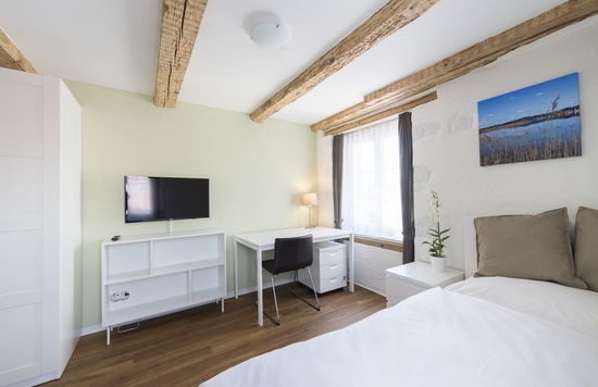 Rooms studios apartments Zurich one-bed-apartment furnished short-term temporary stay flat